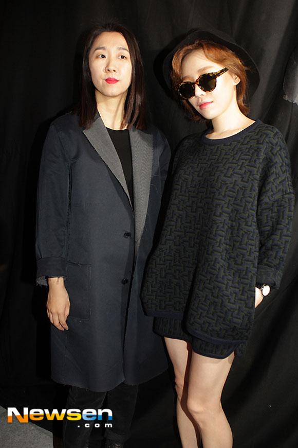 Sao Hàn ăn diện tham dự sự kiện Seoul Fashion Week - Hình 6