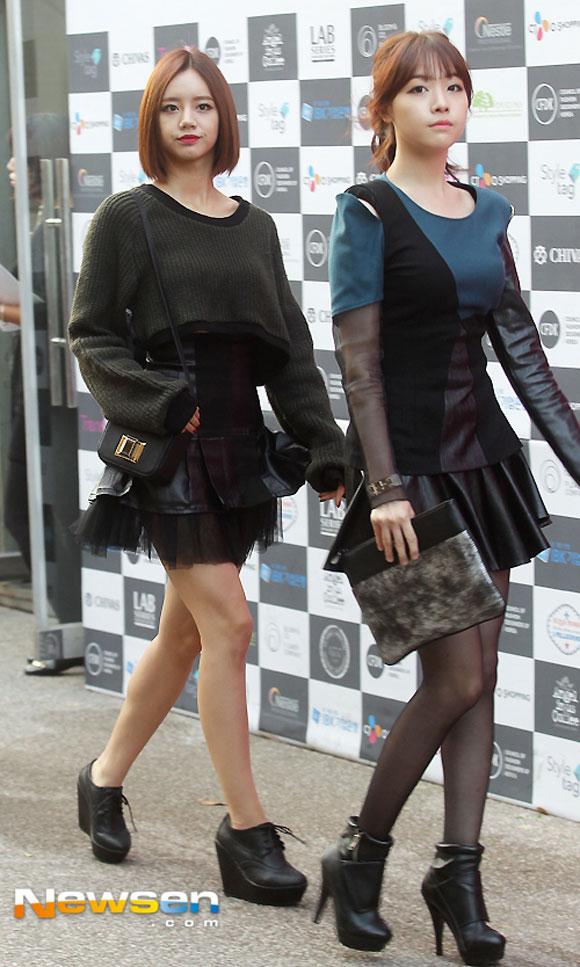 Sao Hàn ăn diện tham dự sự kiện Seoul Fashion Week - Hình 8