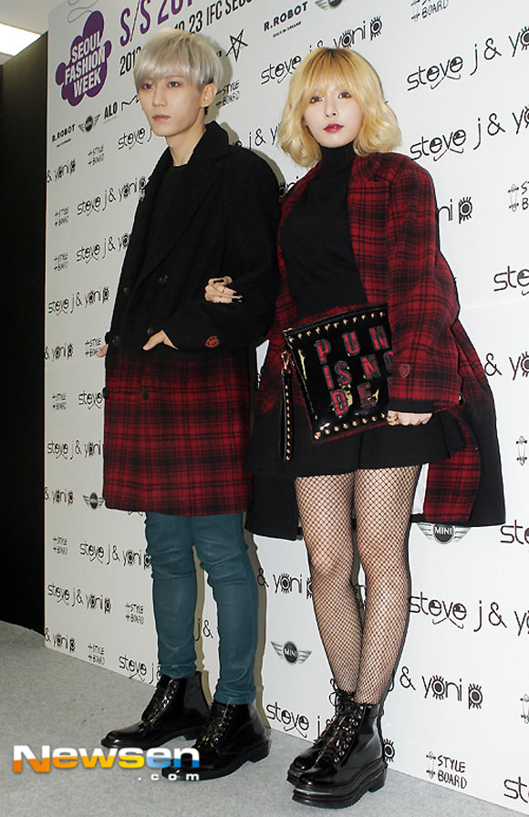 Sao Hàn ăn diện tham dự sự kiện Seoul Fashion Week - Hình 23