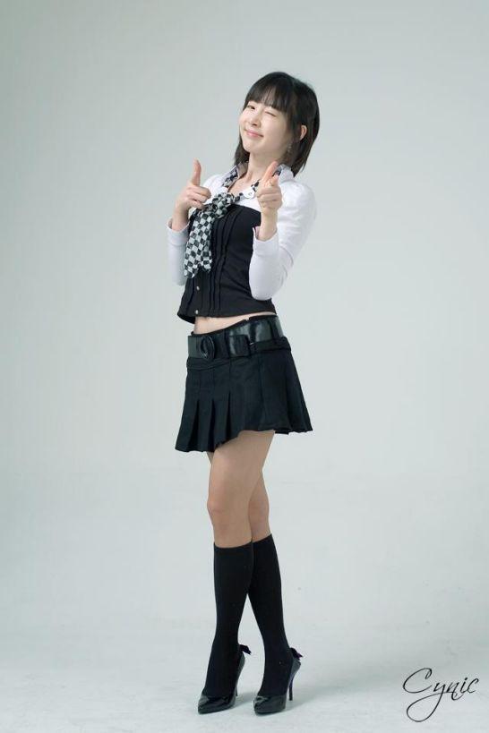 Ảnh girl xinh Hàn Quốc Lee Ga Na dễ thương nhất anh nude 3