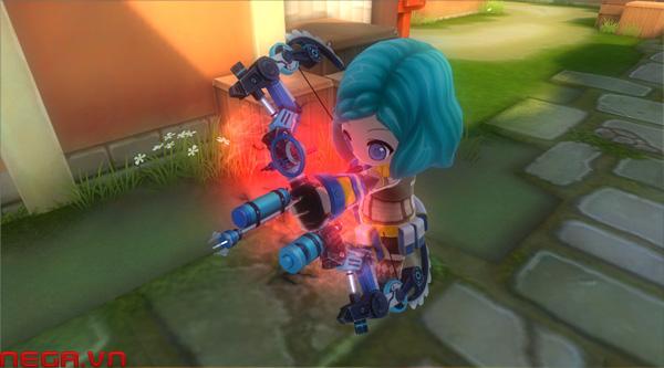 Điểm danh các loại trang bị đặc trưng của 3 lớp nhân vật Avatar Star