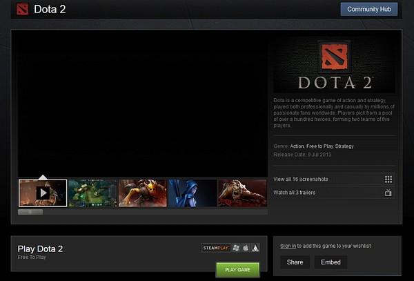 Đã có thể trực tiếp chơi DotA 2 mà không cần kích hoạt - Hình 1