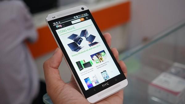 HTC One phiên bản Nhật giá 8,5 triệu hút khách ở VN