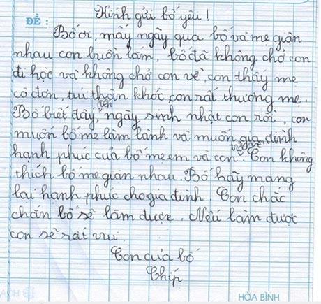 4 lá thư tay năm 2013 khiến dân mạng nhớ mãi - Hình 3