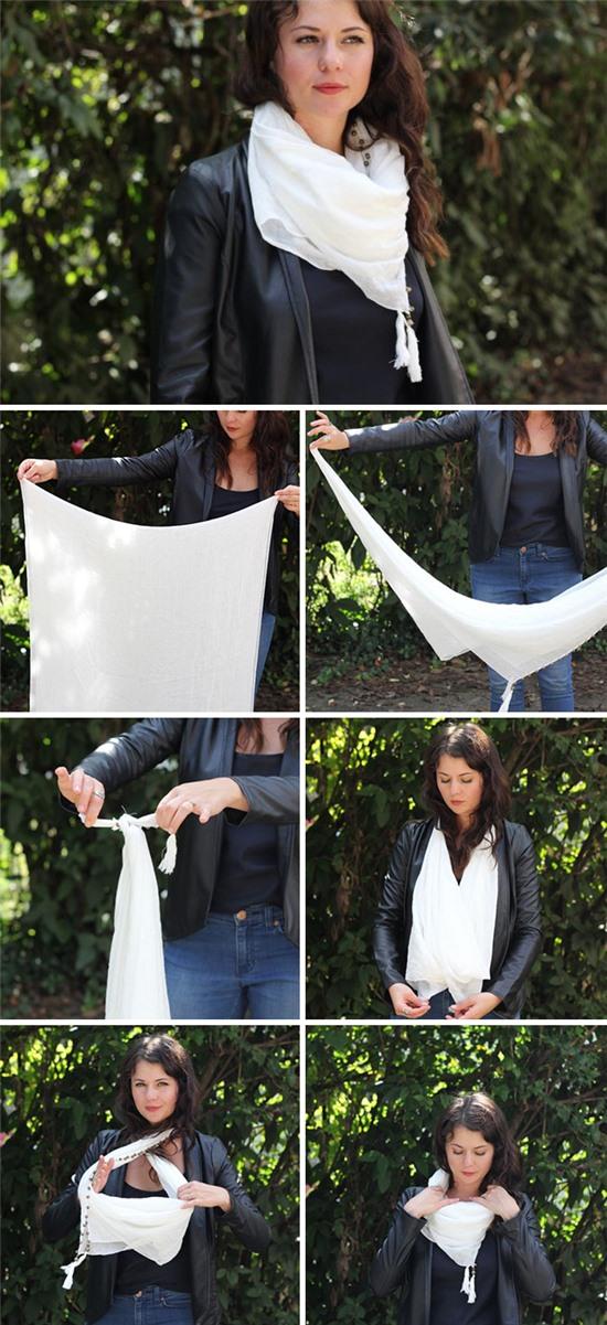6 kiểu quàng khăn cực yêu ngày lạnh - Hình 3