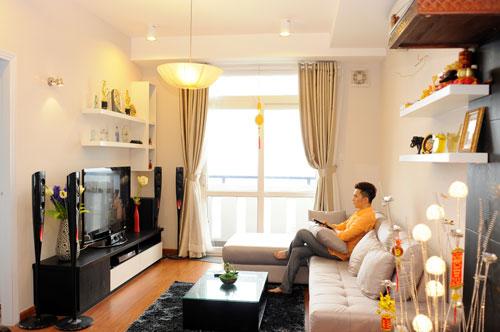 Thăm căn hộ cao cấp mới tậu của Nam Cường