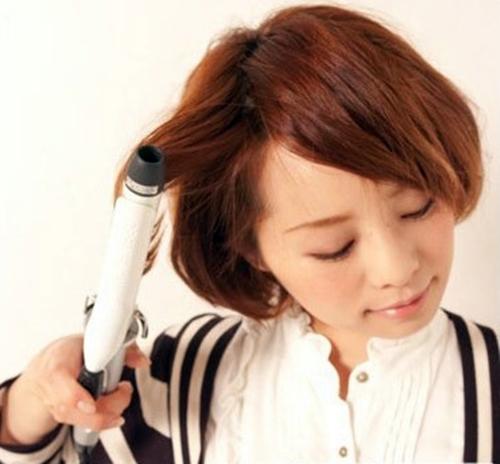 Tết tóc xinh cho cô nàng tóc ngắn - Hình 1