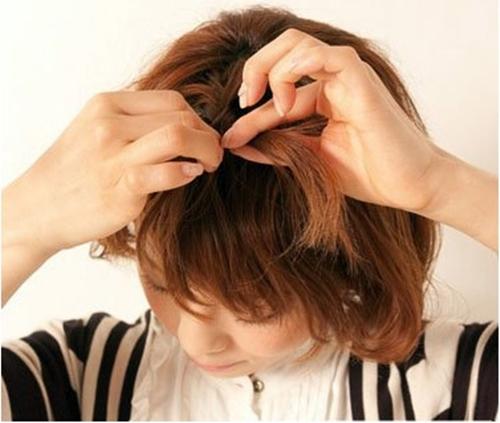 Tết tóc xinh cho cô nàng tóc ngắn - Hình 3