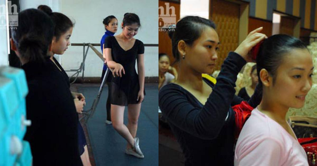 """""""Đột nhập"""" nơi tôi luyện vũ công"""