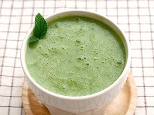 [Chế biến] - Sinh tố chuối trà xanh - Hình 1