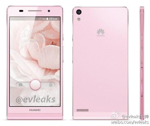 Rò rỉ thiết kế chính thức của Huawei Ascend P6: Smartphone mỏng nhất thế giới