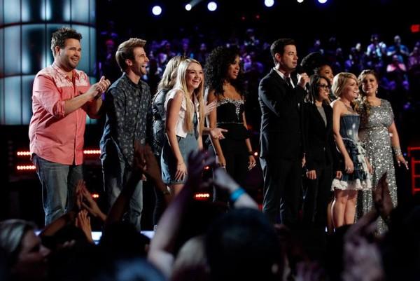 The Voice Mỹ: HLV tự ti vì thí sinh hát quá hay! - Hình 1