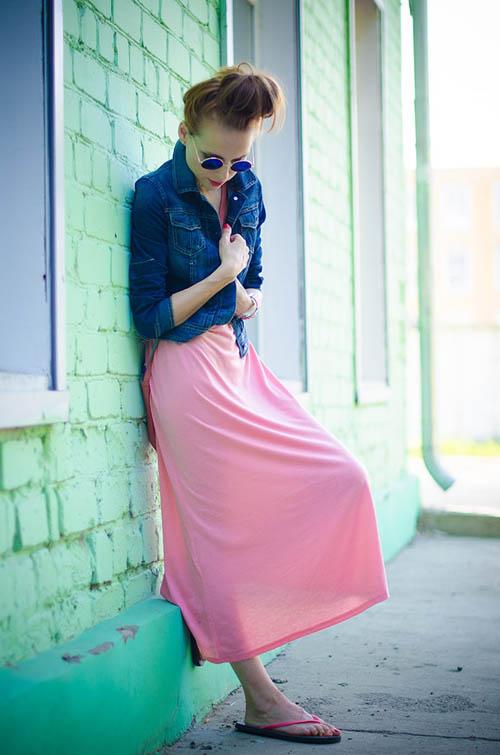 Chân váy hồng ngọt lịm ngày hè - Hình 6