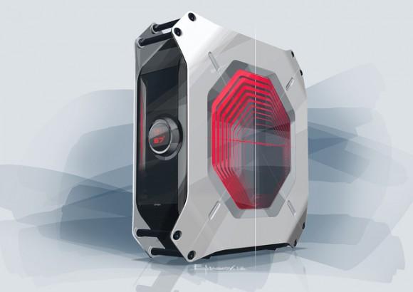 M8: Máy tính chơi game siêu độc của ASRock và BMW - Hình 1