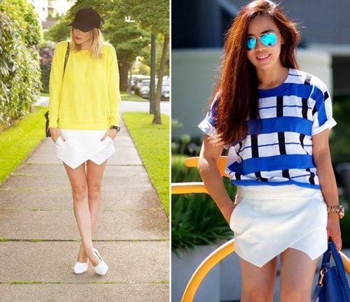 3 cách mix chuẩn với mốt quần lai váy skort - Hình 7