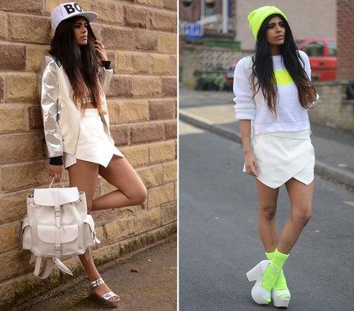 3 cách mix chuẩn với mốt quần lai váy skort - Hình 11