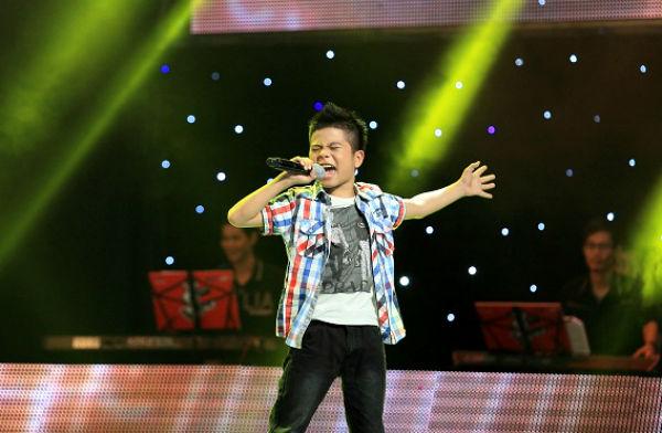 Thí sinh Giọng hát Việt nhí muốn thành Michael Jackson