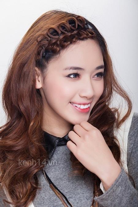 Những mái tóc tết dịu dàng bất ngờ của sao Việt - Hình 1