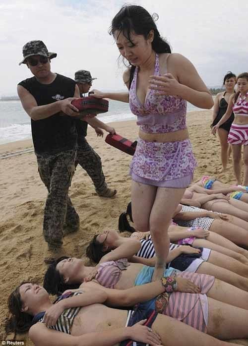 """Khóa đào tạo """"lạ"""" tại Trung Quốc loan luan 5"""