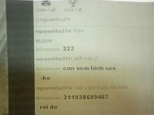 Hiểm họa từ thú trò chuyện sex trên mạng con chong 4