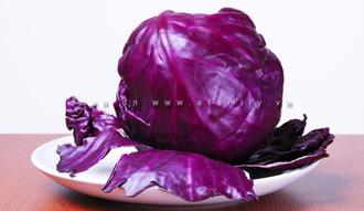 [Chế biến] - Màu thực phẩm từ bắp cải tím