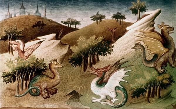 Loài rồng có thật trong lịch sử