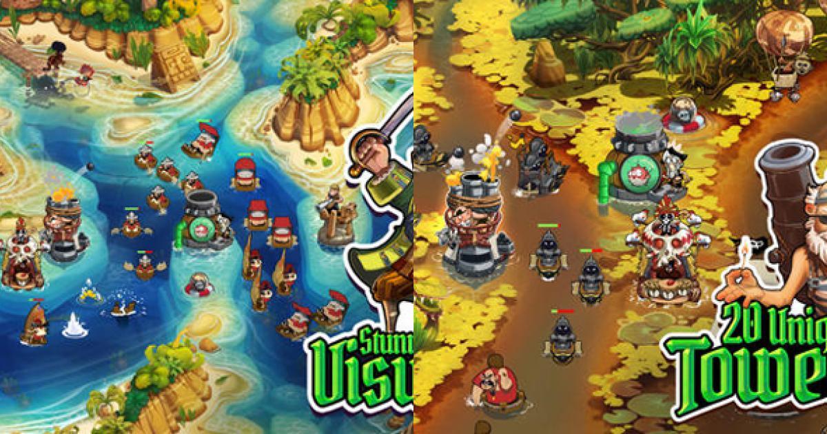 Pirate Legends TD Game thủ thành mới trên iOS - Game online