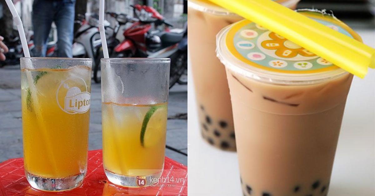 Những món đồ uống gây sốt trong giới trẻ Hà Thành