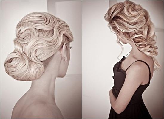 Những kiểu tóc updo cực xinh cho cô dâu - Hình 2