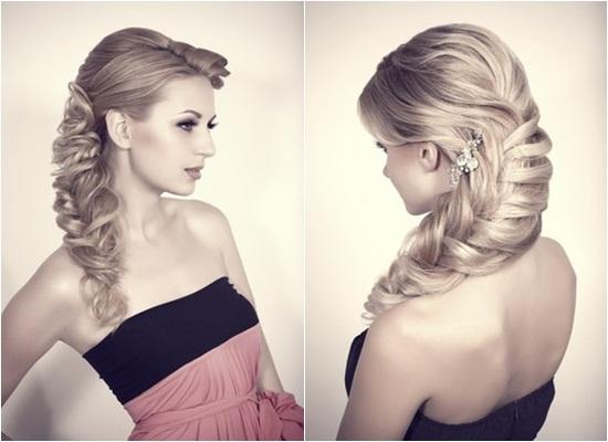 Những kiểu tóc updo cực xinh cho cô dâu - Hình 1