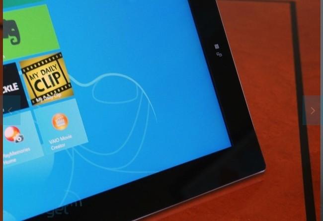 Sony công bố Vaio Tap 21: Máy tính màn hình cảm ứng siêu to