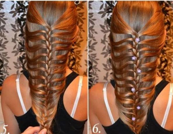 5 phút tết đơn giản, điệu đà cho mái tóc dài - Hình 8