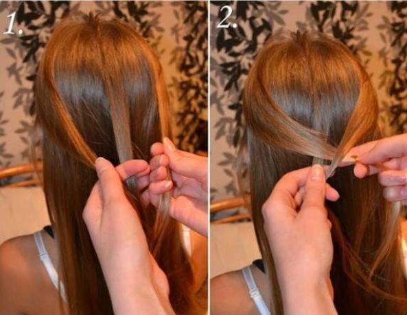 5 phút tết đơn giản, điệu đà cho mái tóc dài - Hình 6