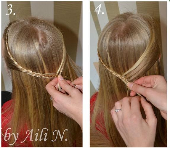 5 phút tết đơn giản, điệu đà cho mái tóc dài - Hình 2