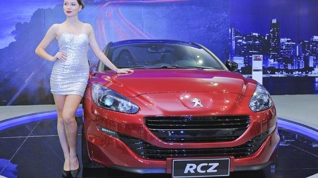 Xe thể thao 2 cửa Peugeot RCZ có giá bán chính thức - Hình 1