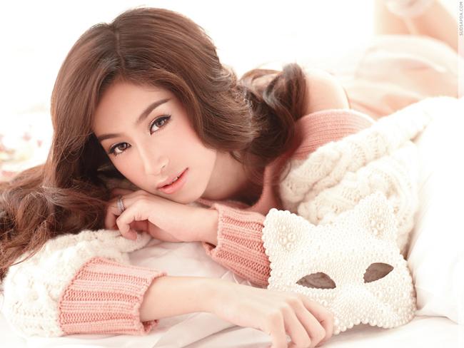 Nhan sắc tuyệt trần của mỹ nhân 9X đẹp nhất Thái Lan - Hình 9