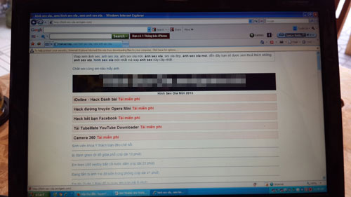 Thêm 2 website chứa phim, ảnh sex
