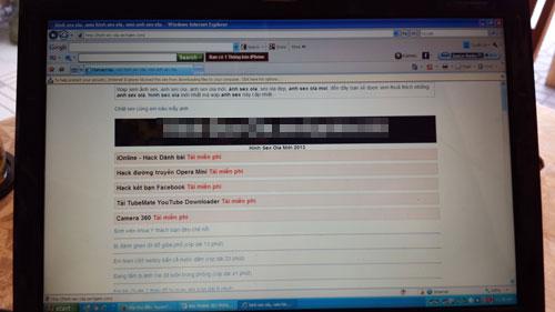 Thêm 2 website chứa phim, ảnh sex thu dam 1