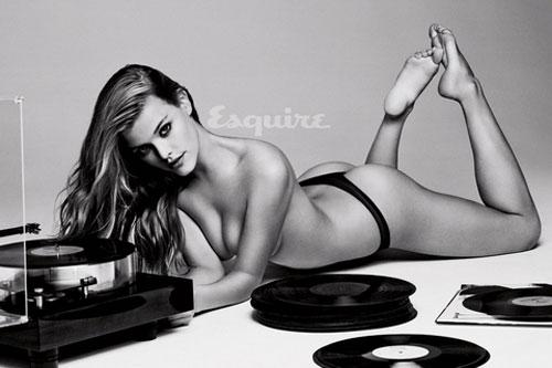 Siêu mẫu 9x chụp ảnh nude tuyệt đẹp trên tạo chí Esquire ca si 4
