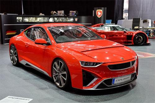 Gumpert ra mắt Explosion coupe giá 144.000 USD - Hình 1