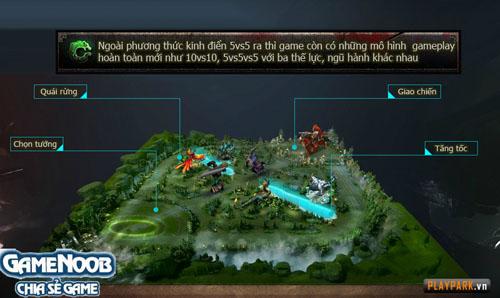 Anh Hùng Tam Quốc - Tìm hiểu chế độ chơi truyền thống 5vs5 - Hình 1