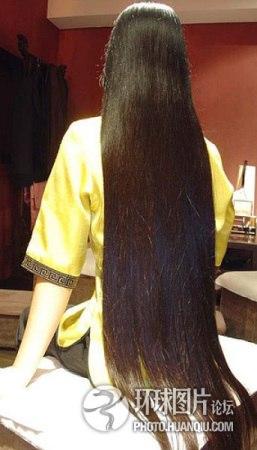 Những mái tóc dài hiếm có khó tìm