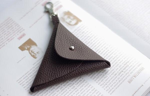 Không cần may vá, tự làm ví da mini siêu đơn giản