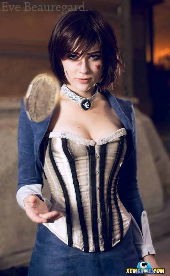 Cosplay Elizabeth xinh xắn trong Bioshock - Hình 1