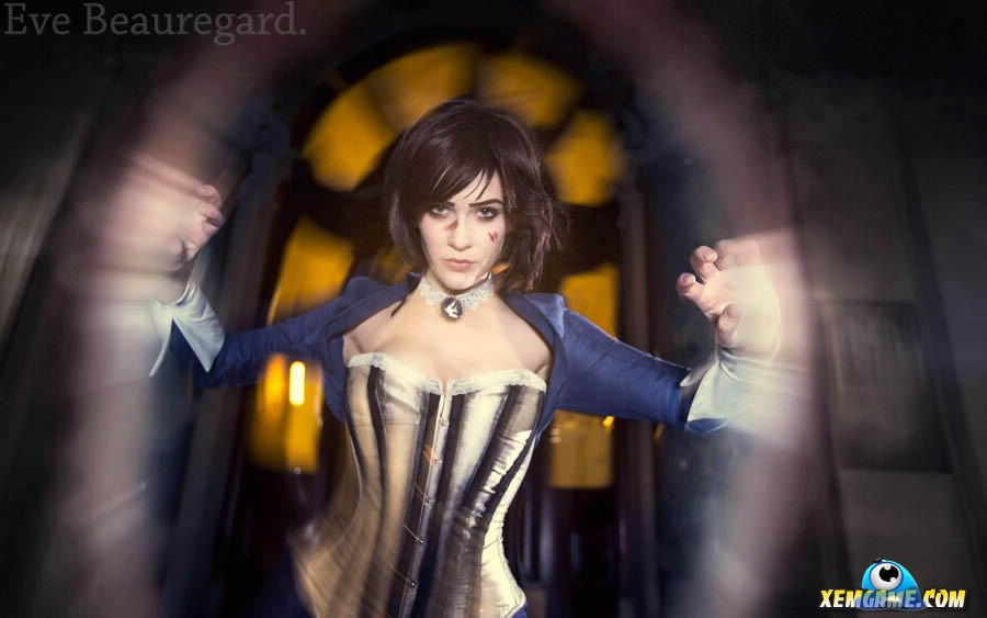 Cosplay Elizabeth xinh xắn trong Bioshock - Hình 4