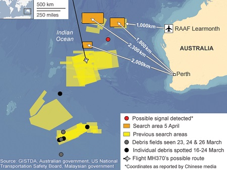 Úc xác nhận tín hiệu được phát hiện phù hợp với tín hiệu hộp đen