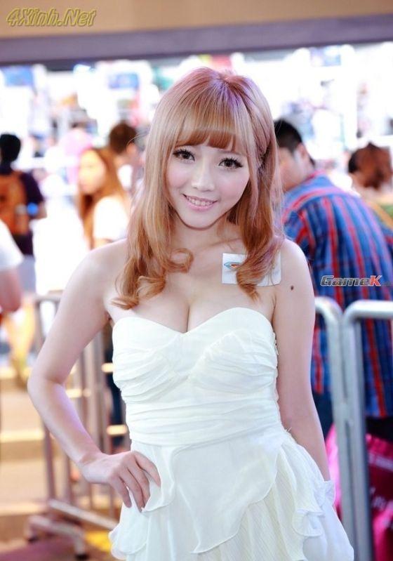 Tổng hợp những girl xinh nóng bỏng nhất tại China Joy xinh dep 2