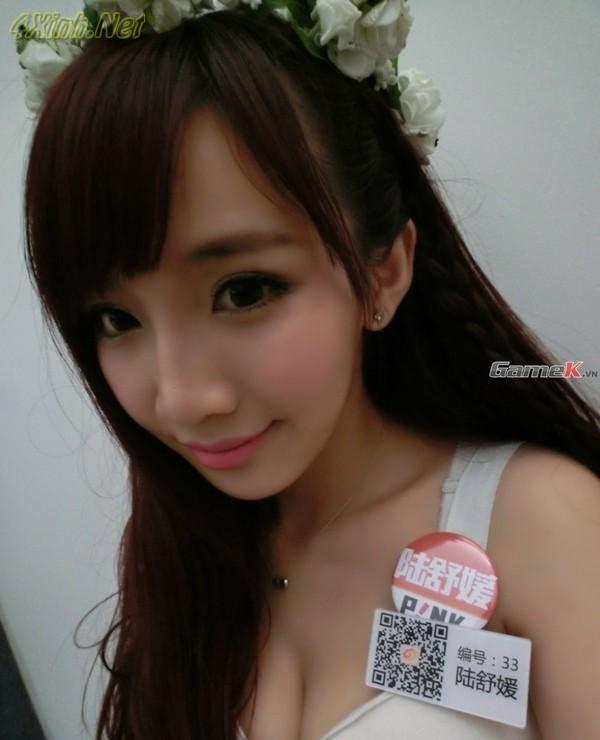 Tổng hợp những girl xinh nóng bỏng nhất tại China Joy xinh dep 4