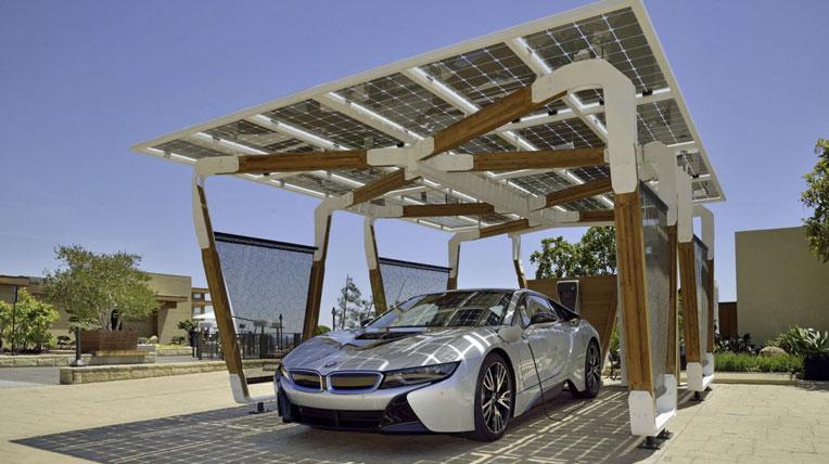 Bến đỗ xe năng lượng mặt trời - Hình 1