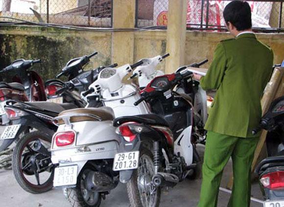 Khám phá ổ nhóm chuyên trộm xe máy ở khu công nghiệp - Hình 1